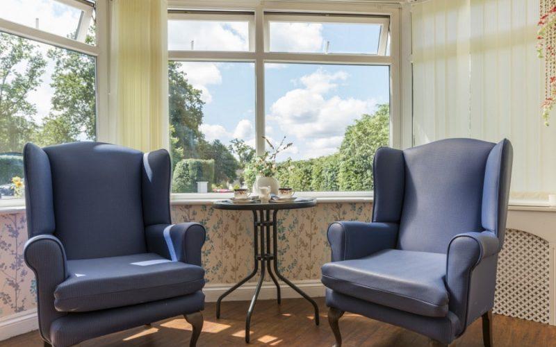 Lounge Area, Retirement Housing, Delph House
