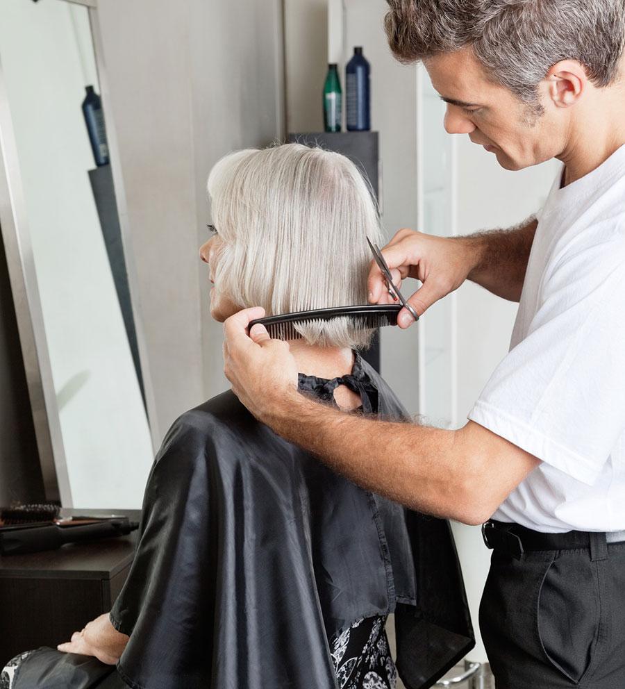 Hairdressing, Retirement Homes Dorset, Delph House